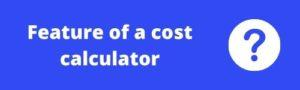 WordPress Cost Calculator Plugin Features