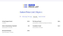 stylish-price-list-for-wordpress